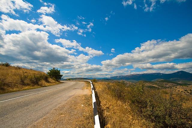 как доехать в крым на машине 2015
