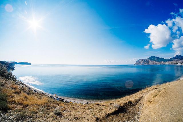 самые чистые пляжи крыма