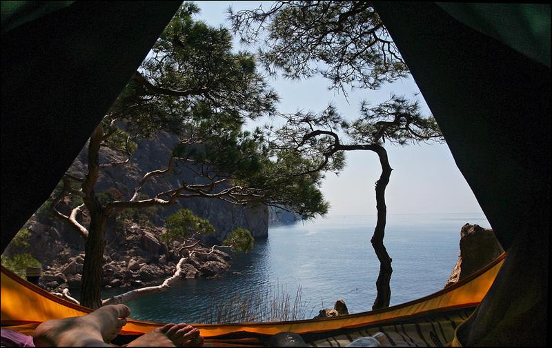 отдых с палаткой в крыму